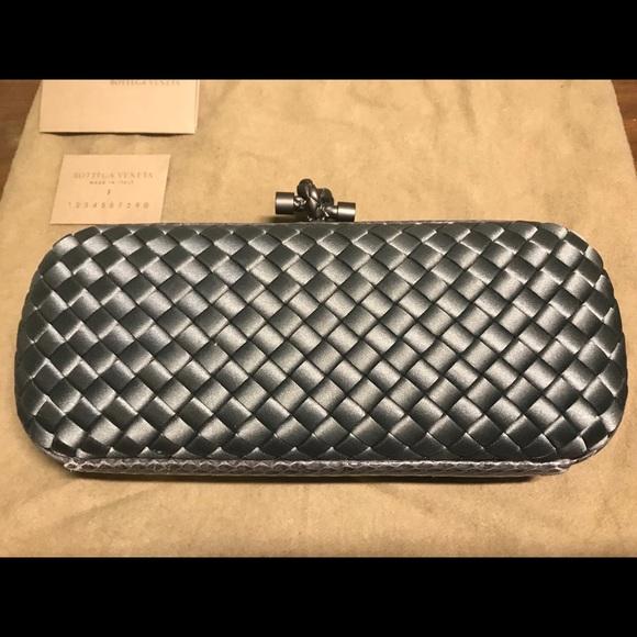 6a12e9c2af573 Bottega Veneta Bags | Knot Silk Clutch Bag With Tags | Poshmark